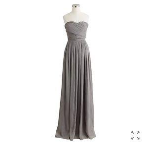 Arabelle J Crew Dark Navy Bridesmaid Dress